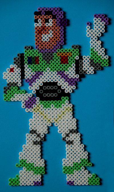 Buzz Lightyear hama beads by perleshama30