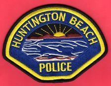 Huntington Beach California Police Shoulder Patch
