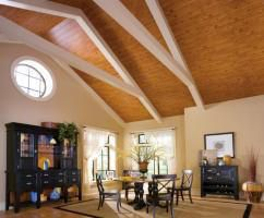 cathredral ceilings | Converting a Flat Ceiling to a Cathedral Ceiling or a Vaulted Ceiling