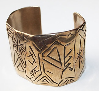 hand carved #cuff: Day Outfits, Cave Painting, Caves Paintings