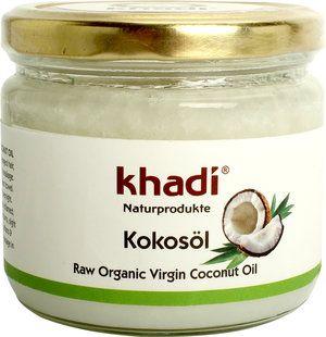 Khadi Olio di Cocco Biologico. Prodotto multiuso, che può essere utilizzato per i capelli, come impacco pre shampoo, oppure come struccante per gli occhi e per il viso. Indispensabile!