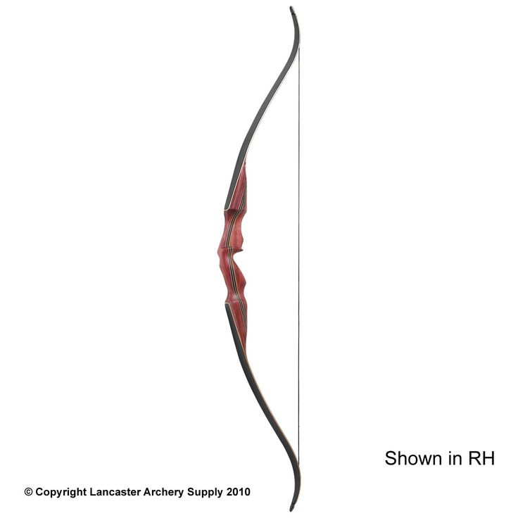 Die-hard traditional archers will love the Samick Red Stag 60-inch recurve bows. It's a one-piece bow built solely for the traditional crowd. There are no accessory bushings for sights or rests, so you'll be shooting off the shelf, or using a stick-on style rest. The combination of hard maple, walnut and white ash makes for a stunning bow.