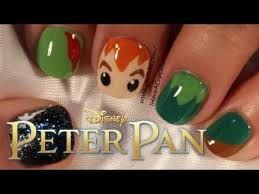 Image result for peter pan nail art