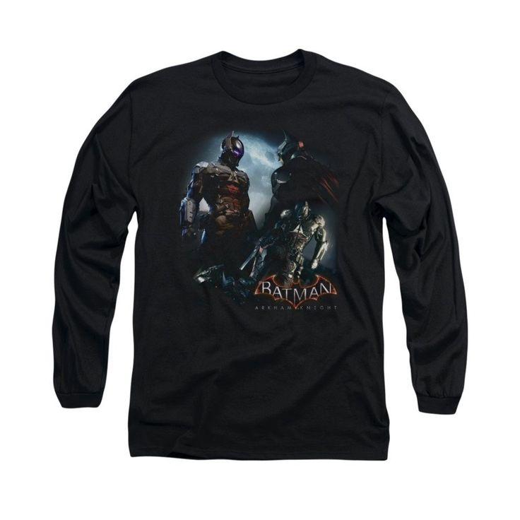 Batman Arkham Knight - Face Off Adult Long Sleeve T-Shirt
