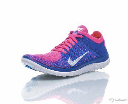 Wmns Free 4.0 Flyknit Nike Kengät Juoksukengät Treenikengät Paljasjalkakengät Neutraalit kengät