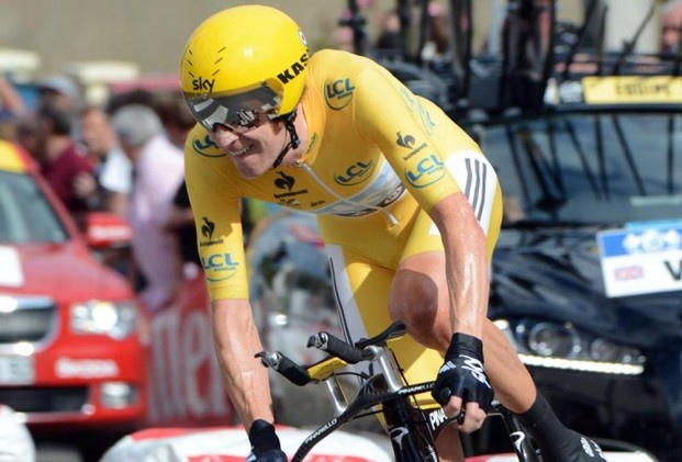 Bradley Wiggins - Great Britain's 1st Tour de France winner in many, many years!!