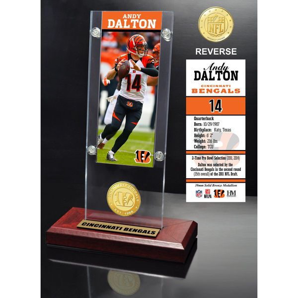 "Andy Dalton Cincinnati Bengals Highland Mint 9.5"" x 3.5"" Player Ticket Acrylic - $39.99"