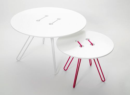 These would be cute fairy tables!