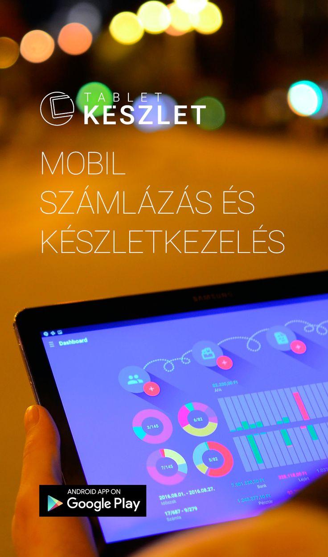 Számlázzon bárhol, bármikor! Mobil számlázás és készletkezelés kereskedőknek. Tetszőleges számú raktár és pénztár kezelés, bevétel, kiadás és pénzügy, mindössze egy internet eléréssel rendelkező Android tablet szükséges hozzá.  Telepítse most és tegye próbára a saját adataival! https://play.google.com/store/apps/details?id=com.tabletinvoice.stock&hl=hu