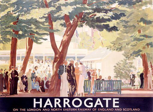 LNER Railway Harrogate Travel Poster