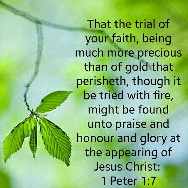 1 Peter 1:7 KJV