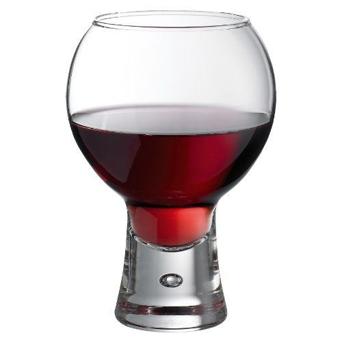 Alternato Wine Gles 19oz 540ml Pack Of 6 Red Short