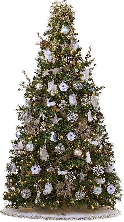 General Foam Plastics 7.5' Pre-Lit Balsam Fir Christmas Tree
