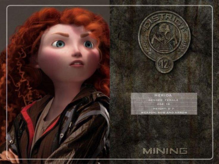 Merida in Hunger Games by Fate221.deviantart.com on @deviantART