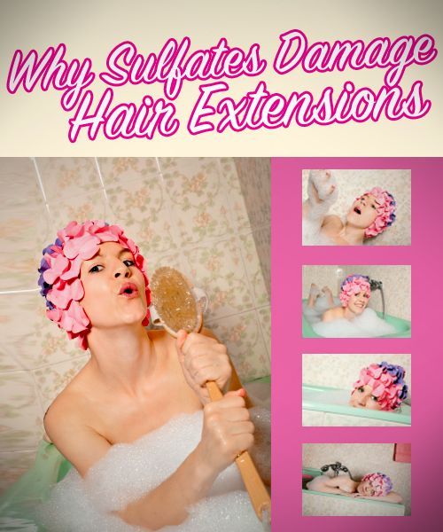 Why Sulfates and Hair Extensions Don't Mix