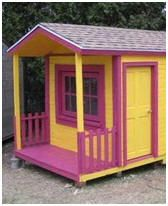 58 Free Children's Project Plans – Thrill your favorite child with a new playhouse, playground, clubhouse, play fort, treehouse, wooden toy or bedroom furniture. Photo: Pallet Playhouse at instructables.com