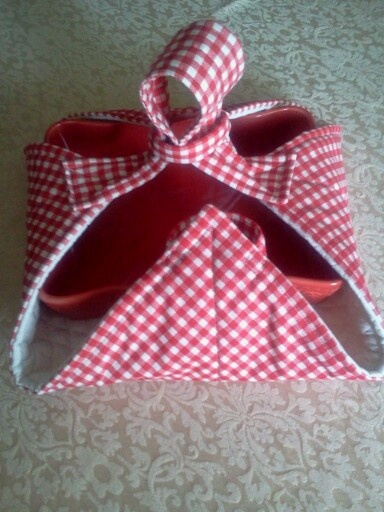 Casserole Carrier- no instructions but could make it.