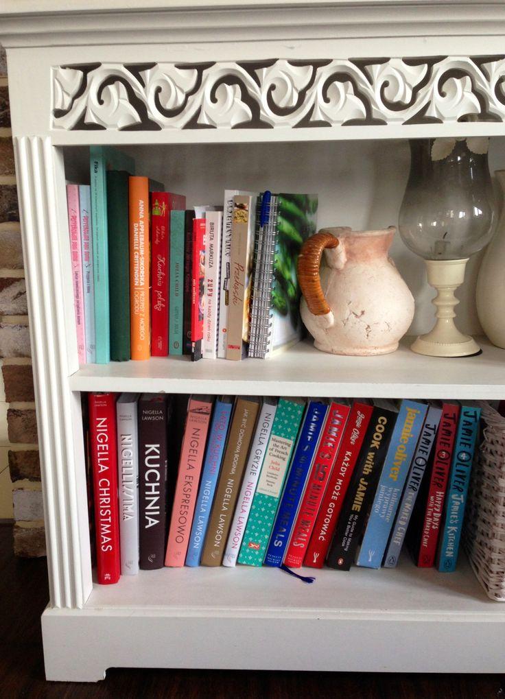 my cookbooks collection #cookbooks #collection #juliachild #jamieoliver #nigellalawson