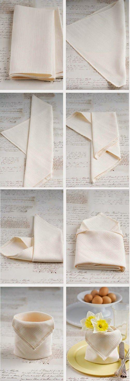 Como doblar servilletas