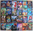 Lot 16 Disney Movies :Peter Pan The Little Mermaid Snow White Monsters Pinocchio