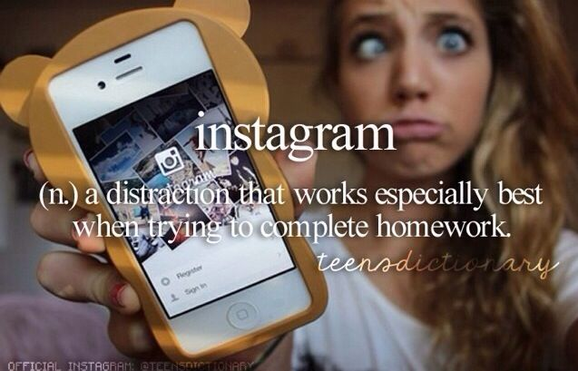 Yep so true but instead of Instagram I would replace it for Pinterest!!