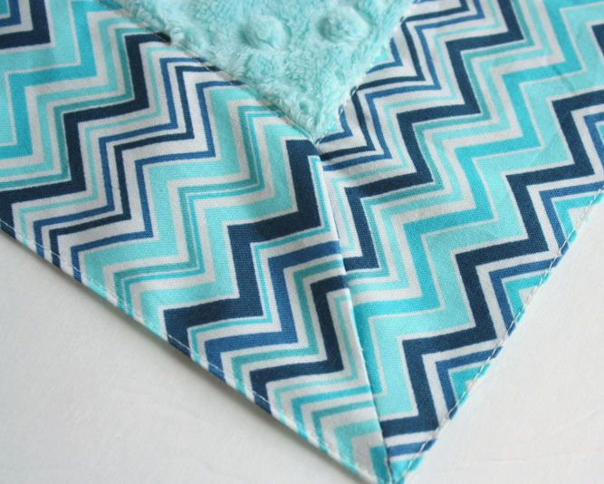 self binding baby blanket instructions