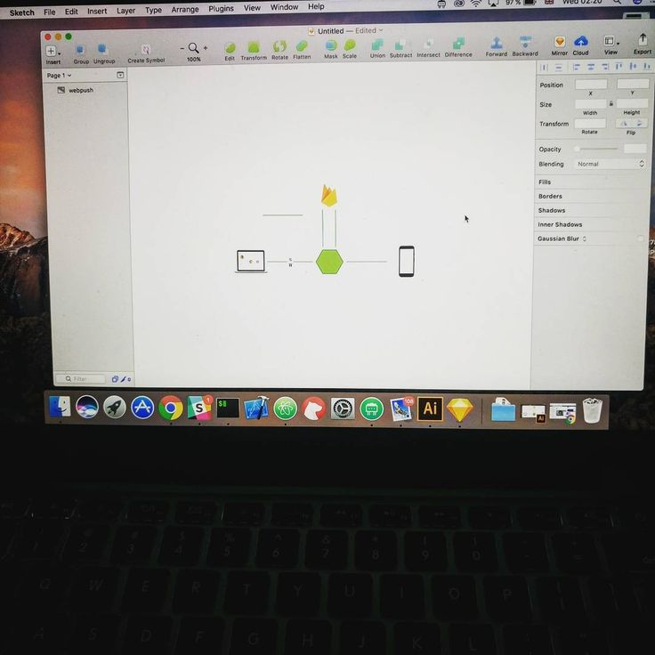 Designing my upcoming blog post about web push notifications. It will be a full article from case study to a full implementation using #Firebase #NodejsDZ #socketIO and should be out soon before new year eve   #picture #hdr #code #nolifecoding #nolife #codelove #googledevelopersgroup #GDG #angularjs #js #javascript #dev #tech #webdevelopers #webdevelopment #geeks #geekout #node #instabeauty #design #sketch #midnightwork
