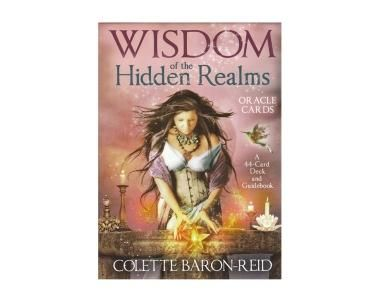 Wisdom of the Hidden Realms - This 44 Oracle Card Deck and accompanying guidebook - the imagery in this deck has been described as beautiful and transfixing, as well as uniquely composed. Passing down stories of magical realms of Queens and Kings, Princes and other magical helpers, the Swan Queen, Arrow Master, Sun Dancers and Sacred Unions will provide answers when called upon.