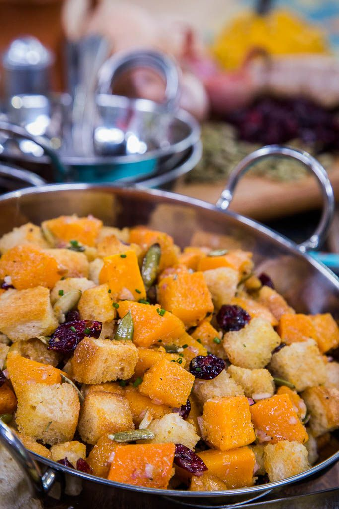 52 best taste of home images on pinterest family recipes hallmark taste of home roasted butternut squash panzanella forumfinder Images