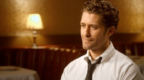New party member! Tags: impressed eyebrow raise matthew morrison after the reality