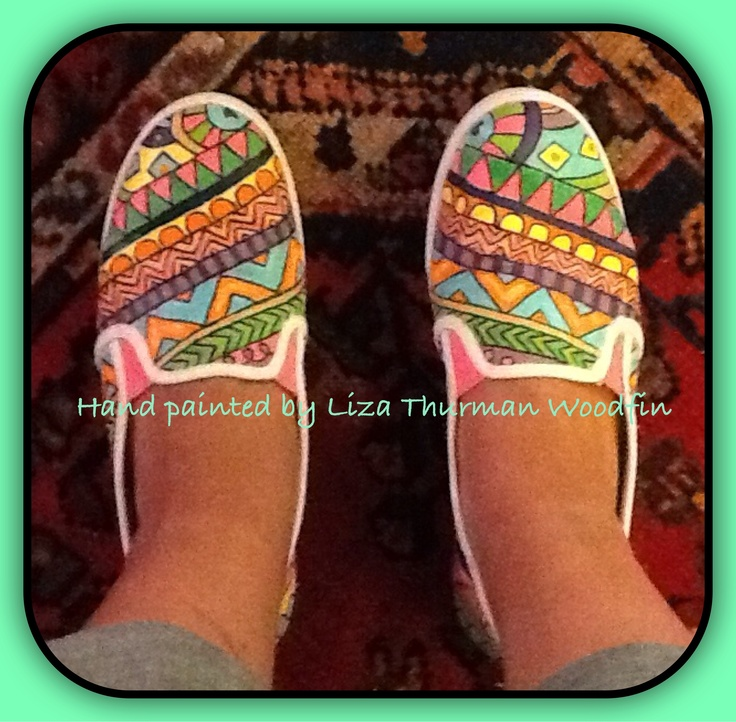 diy painted canvas shoes artsy canvases