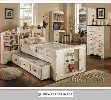 Wonderful Acme Furniture Bedroom Set In Cream