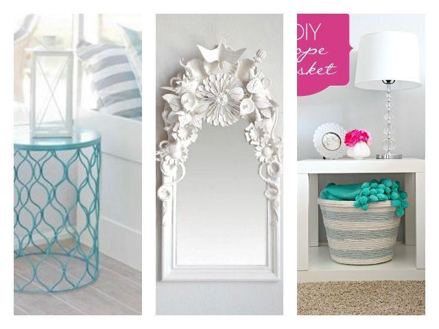 A Dozen Dollar Store DIY Ideas to Dress Up Your Home