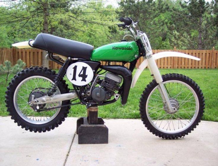 1976- Kawasaki SR125 Works Bike