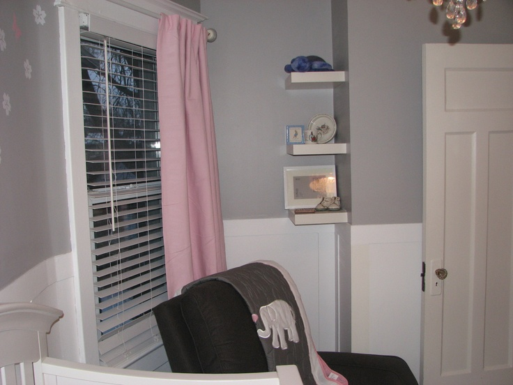 Curtain - Pottery Barn for Kids (Sailcloth Panel with Blackout Liner)  Chair - Homesense (La-Z-boy)