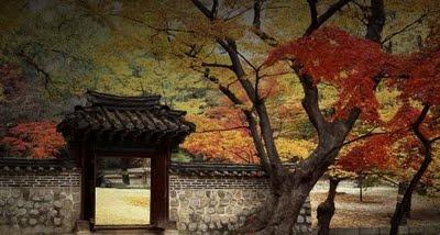 Changdeokgung Palace Garden In The Autumn, Seoul, South Korea