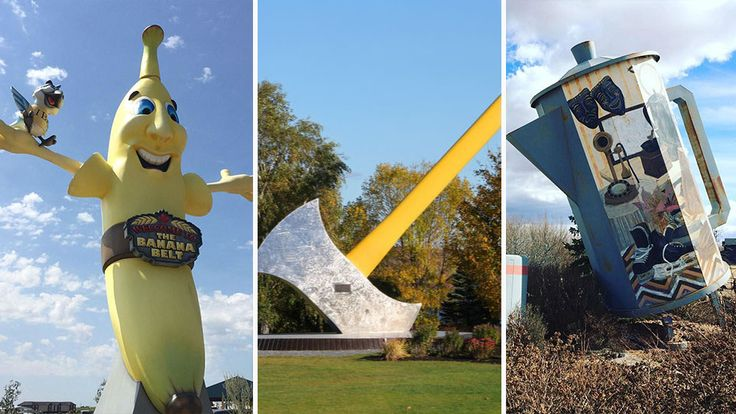 10 Weird And Wonderful Roadside Attractions You Ll Only See In Canada Places From Around The