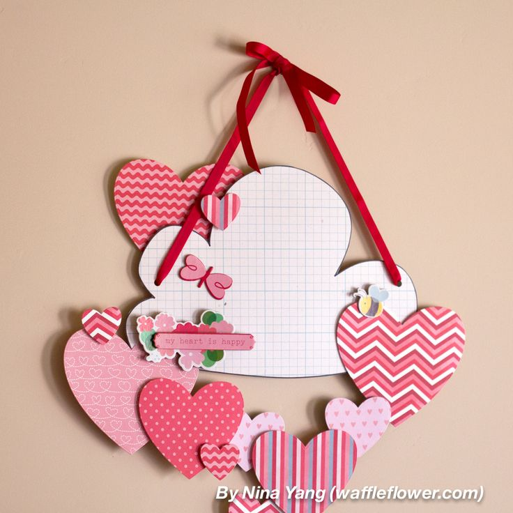 Happy Hearts Wall Decoration for Valentine's Day