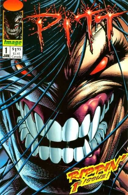 Red Eyes - Teeth - Hair - Fang - 1st Issue - Dale Keown