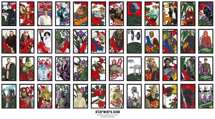 star wars hanafuda