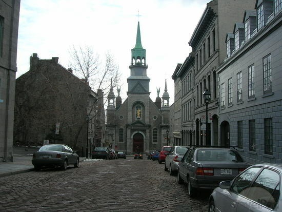 Old Montreal, Chapel Notre Dame    Also for exterior street