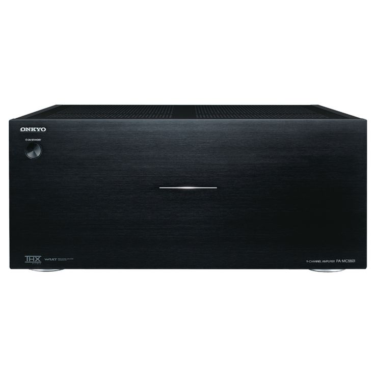 ONKYO PA-MC5501 9-CHANNEL AMPLIFIER  Transcendental Performance from Flagship Power Amplifier Rather than simply offering raw power, the PA-MC5501 is engineered to deliver superior dynamic response and outstanding signal purity.