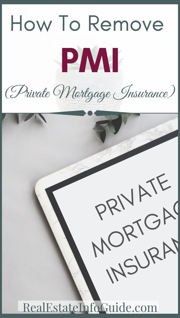 How To Remove Private Mortgage Insurance With Images Private