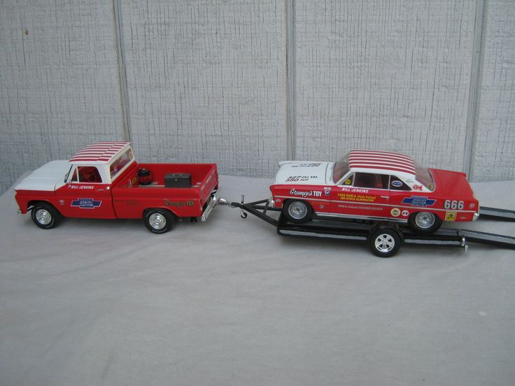nice chevy pu and nova race car with trailer plastic fanatic pinterest chevy nice and cars. Black Bedroom Furniture Sets. Home Design Ideas