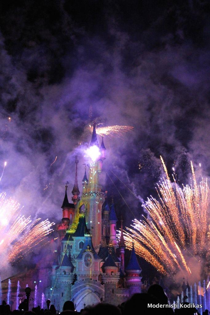 Fireworks, #Disneyland Pariisi. Kuva: Modernisti Kodikas -blogi