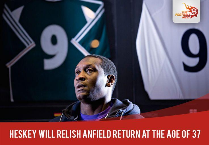 Emile Heskey relishing Anfield return at 37 Full Story : http://bit.ly/1yOFFjV #LFC #lfcindia