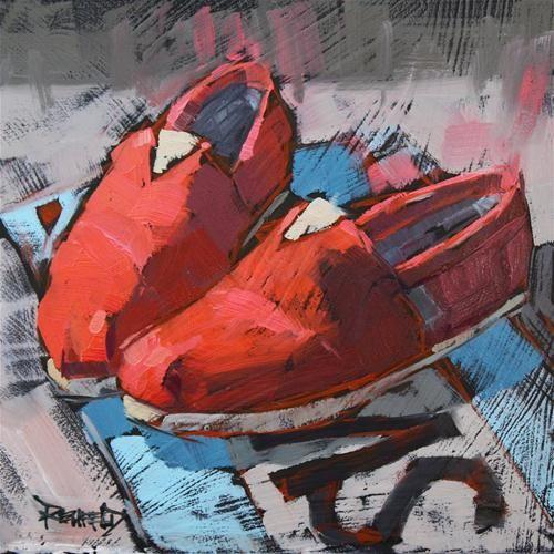 """My Favorite Toms"" - Original Fine Art for Sale - © Cathleen Rehfeld"