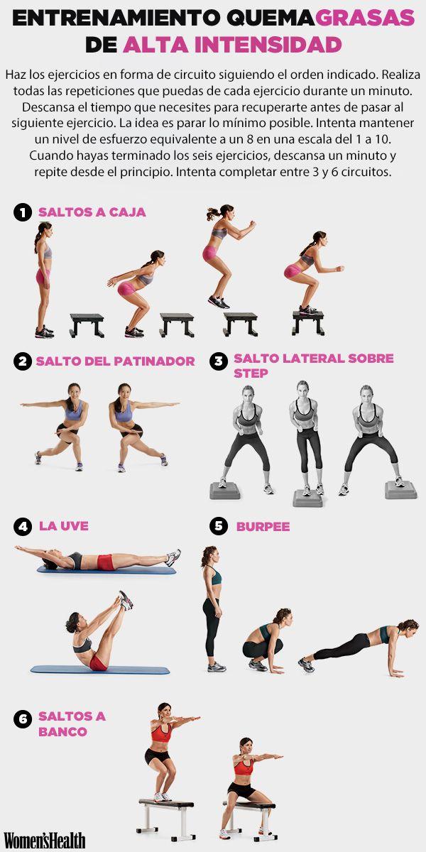 Ejercicio para bajar de peso en el gym ejercicios