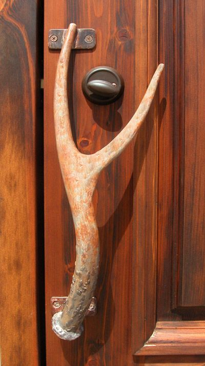 Door Pull - Deer And The Natural Woods inspire - HH192