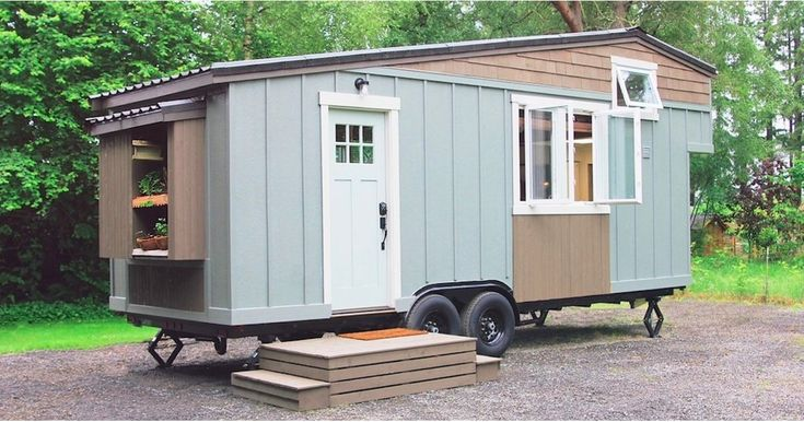 This Tiny Farmhouse on Wheels Makes 250-Square-Feet Look Lavish